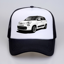 Cool Trucker Caps FIAT Punto GT Turbo Fans Cap Summer Baseball Mesh Net Hip Hop Hat For Men Snapback hat