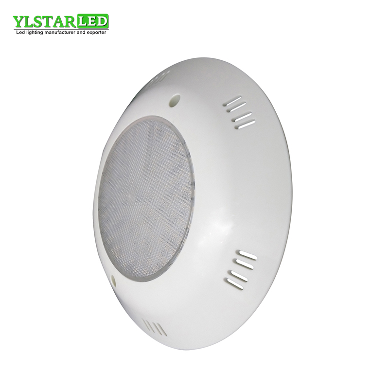 YLSTAR free shipping Surface Mounted Fiber glass Swimming Pool Light IP68 Leds SPA Lighting White/R/G/B Led Underwater Lighting