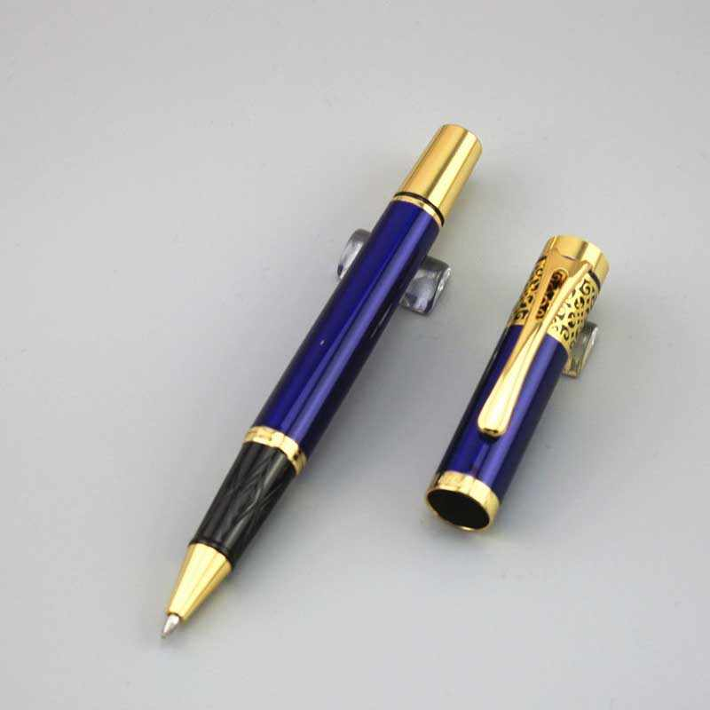 Dkw Blue Ballpoint Pen Metal School