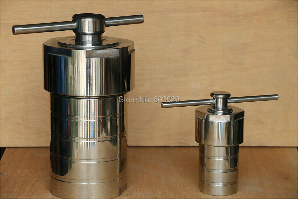 Hydrothermal Autoclave Reactor with Teflon Chamber Hydrothermal Synthesis 25ml