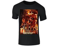 TERMINATOR 2 JUDGMENT DAY T2 RETRO ARNOLD SCHWARZENEGGER SKYNET MENS T Shirt Summer Short Sleeves Cotton T-Shirt Fashion