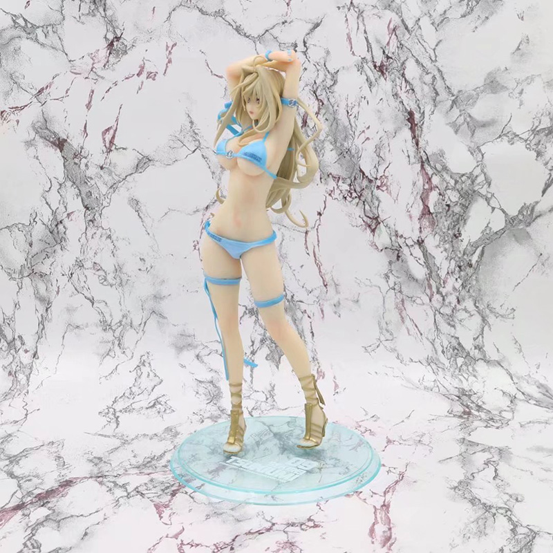 26cm Anime Sekirei Tsukiumi Sexy PVC Action Figure 1/7 scale Girl Swimsuit Ver. Model Gifts no retail box (Chinese Version) 1
