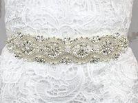 Free shipping 2016 hot Wedding Bridal Sash Belt Crystal Rhinestone Dress Sash Prom Sash Wedding Sash Belt Wedding Accessories