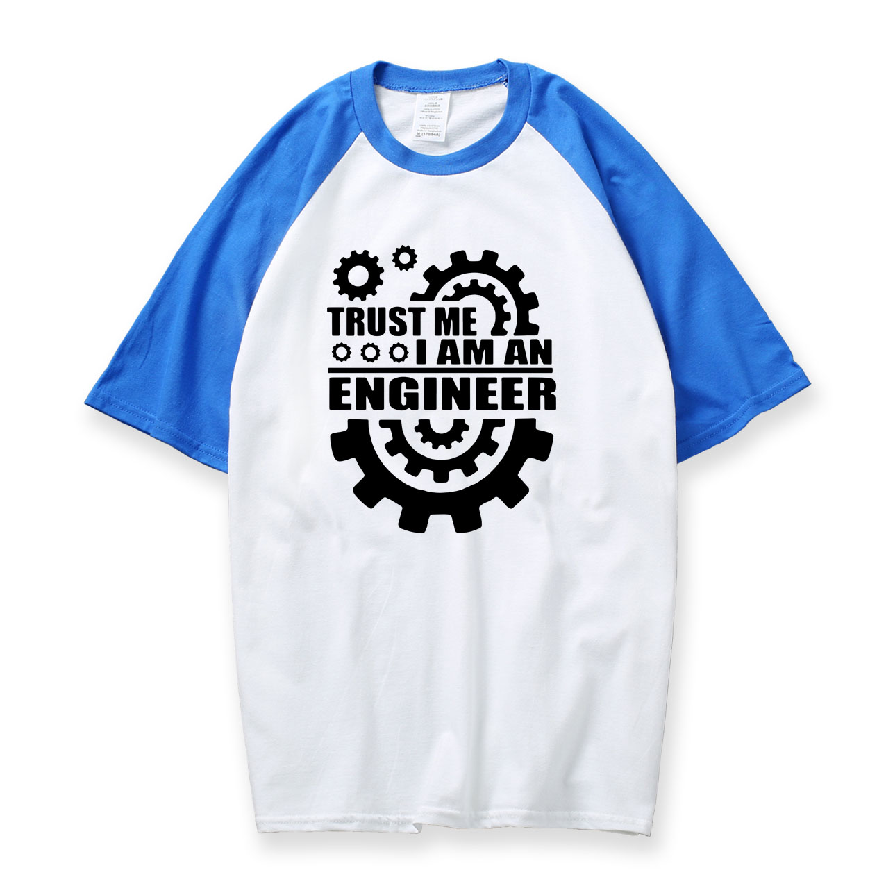 Trust Me I Am An Engineer Humor tshirt men 2018 new summer 100% cotton raglan sleeve t shirt fashion basic top tees swaetshirt