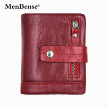 Genuine Leather women wallets men Fashion Short Solid Hasp purses luxury credit Card photo Holder Coin Pocket new arrival 2019 brand fashion men short wallets bifold genuine leather card holder bag hasp zipper pouch quality men s purses coin pocket case