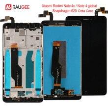 Для Xiaomi Redmi Note 4X/4 Глобальный ЖК-дисплей Дисплей Сенсорный экран Замена для Xiaomi Redmi Note 4 Восьмиядерный процессор Snapdragon 625 5,5»