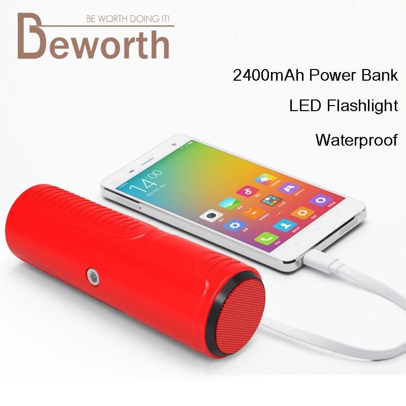 Hopestar P3 Bluetooth Speaker Riding LED Flashlight 2400mAh Power Bank Portable Outdoor Bicycle Waterproof Subwoofer Bike <font><b>Mount</b></font>