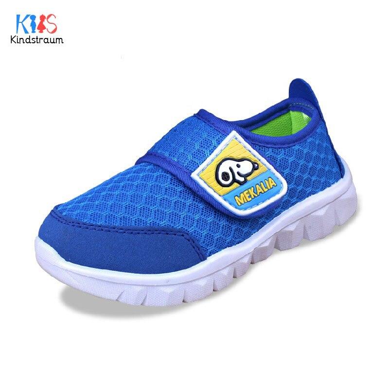 Kindstraum 2018 Enfants Chaussures de Course Printemps Air Mesh Soft Sports  Chaussures pour Garçons et Filles Marque Bébé Espadrilles Occasionnelles,  ... 113bc01de482