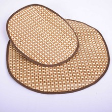 Cozy Dog Pet Summer Breathable Sleeping Mat Bed Puppy Cat Doggie Cooling Pad Cushion Oval Grid Bamboo Mats