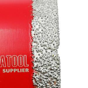 Image 5 - SHDIATOOL الجافة فراغ صنع من النحاس M14 اتصال الماس الحفر بت الأساسية الماس ارتفاع 10 مللي متر هول المنشار ل بلاطة من البورسلين الحجر