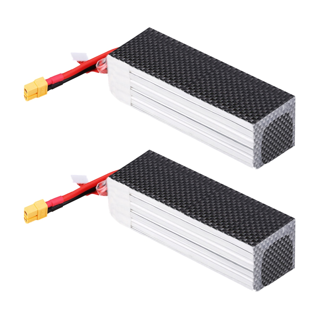 2X 6S 22.2V 3300mAh 45C XT60 Plug Li-Po RC Battery Pack for Helicopter Car Truck fh100 compatible 7 2v 3300mah battery pack for sony sr300e sr200e sr82e more