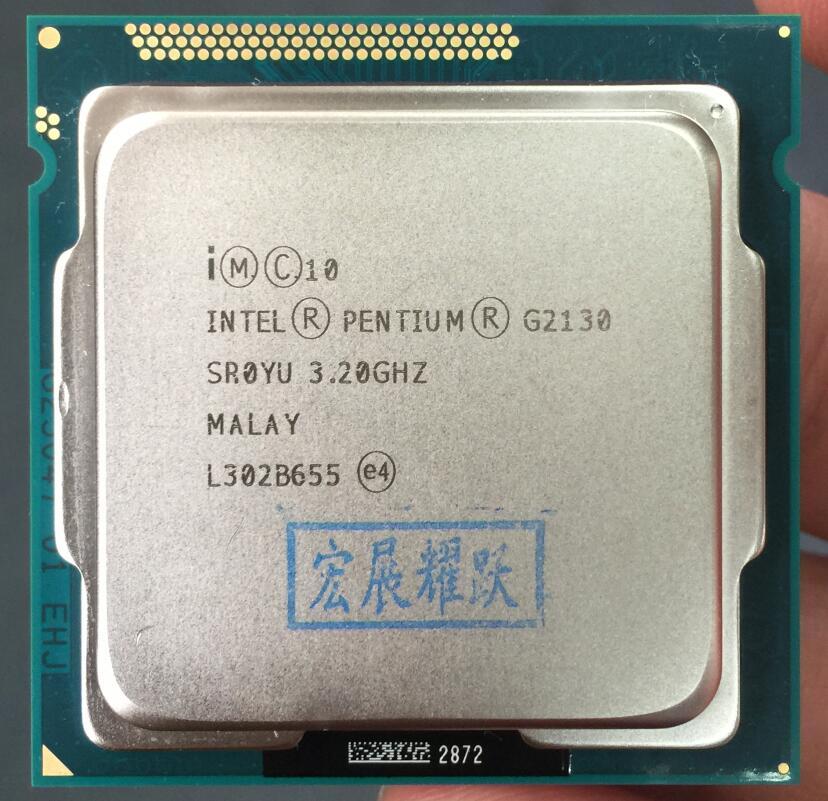 Intel Pentium Processor G2130 (3M Cache, 3.20 GHz) CPU LGA 1155 PC Computer Desktop CPU Dual-Core original for intel core i3 2100 processor 3 1ghz 3mb cache dual core socket lga 1155 qual core desktop i3 2100 cpu