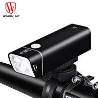 Wheel Up USB Recharge Bicycle Light Waterproof 600 Lumens Flashlight Night Ridning Warning MTB Road Bike