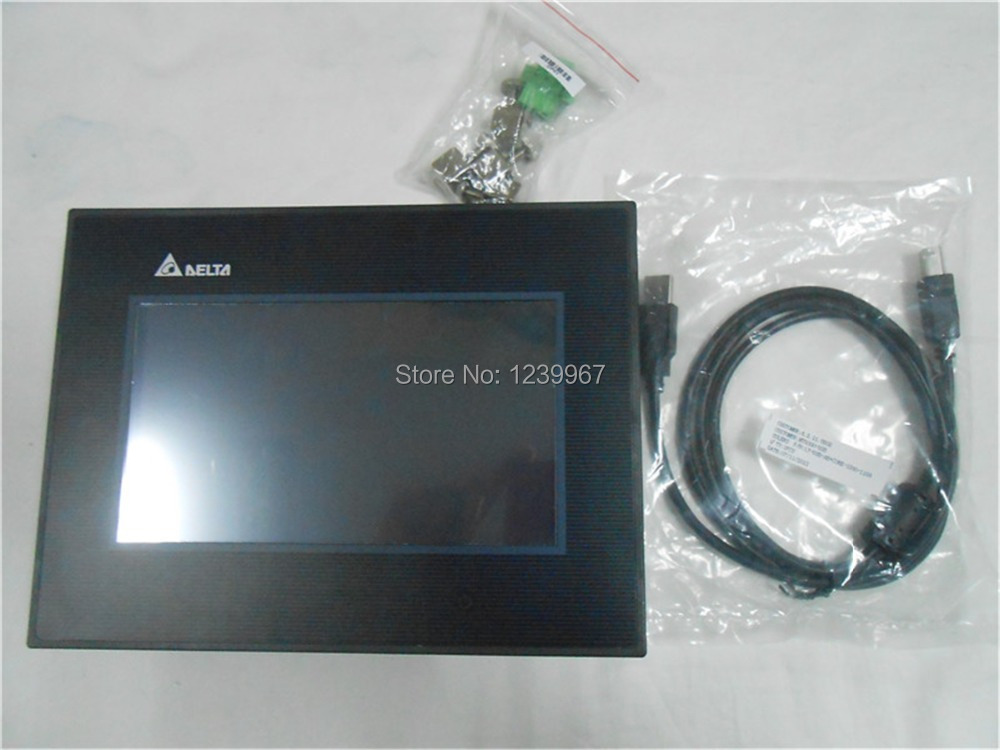 New Delta Operation Panel 10.4 inch HMI Touch Screen DOP-B10S511 with Programming Cable and software 1 Year Warranty new touch screen touch glass for delta dop b07s410 touch panel dop b07s410 dopb07s410 freeship 1 year warranty