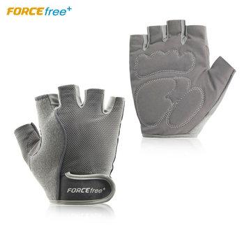 Forcefree + treningowe rękawice do podnoszenia ciężarów Half Finger hantle treningowe rękawice do ćwiczeń na siłownię dla mężczyzn tanie i dobre opinie Podnoszenie ciężarów rękawice ALIFFCCCG0110M