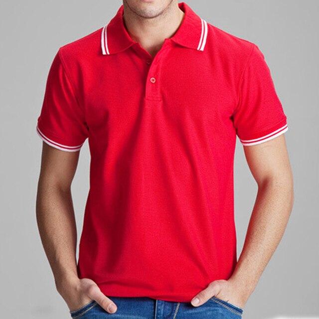 Marca Camisa Polo Sólidos Casual Polo Homme Roupas Para Homens T Shirt Tops de Algodão de Alta Qualidade Slim Fit Homens 102TCG t-shirt