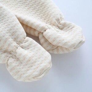 Image 5 - Emotion Moms (8pcs/set) Infant Clothes 0 3M Newborn Baby Suits Toddler Clothing Sets Kids Boys Girls Suit Thermal Organic Cotton