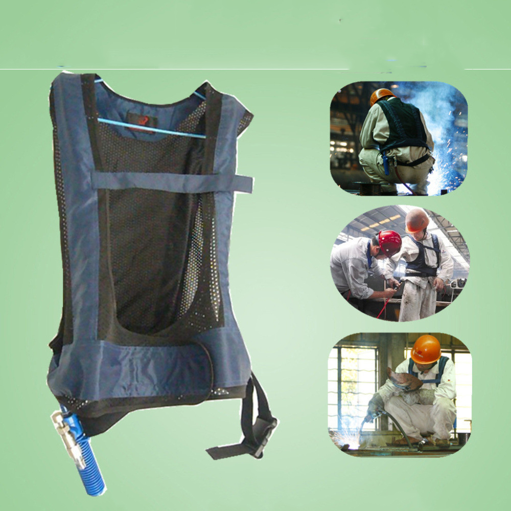 2020 แบบพกพามนุษย์ เครื่องปรับอากาศเสื้อผ้า TIG MIG MMG เชื่อมเสื้อผ้าเสื้อผ้าเย็น HVAC เครื่องปรับอากาศ Cooling Vest Vortex Tube-ใน เสื้อผ้านิรภัย จาก การรักษาความปลอดภัยและการป้องกัน บน AliExpress - 11.11_สิบเอ็ด สิบเอ็ดวันคนโสด 1