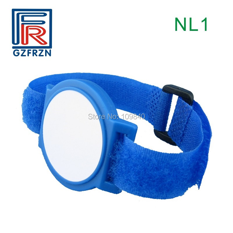100pcs/lot 125KHz T5577 RFID Nylon Wristband ISO 11784/11785 Rewritable bracelet for access control rfid 125khz wristband with em chip waterproof abs bracelet for access control swimming pool fitness suana water park 100pcs lot