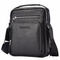 Bison Denim Full Grain Genuine Leather Men S Brown Messenger Shoulder Bag Business Holiday Mutifuntional Large