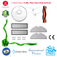 Original Xiaomi Roborock S50 2018 Robô Aspirador de pó Molhado Limpar mop cleaner Robot Vacuum Cleaner para casa sem fio Mijia