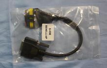 4pin do kabla BENELLI używanego w MST-500 MST-100P MST-3000 uniwersalny skaner diagnostyczny motocykla tanie tanio Testery elektryczne i przewody pomiarowe diagauto
