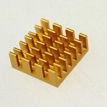 20 PCS/LOT 14x14x6mm MOS Heat sink Cooling Heatsink For VGA Card IC Chip Router