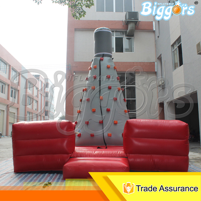 20FT Height Hot Sale Inflatable Rock Climb Game Inflatable Sports Game Climbing Wall