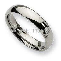 classic comfort fit 5mm custom mens rings fashion titanium jewelry wedding band