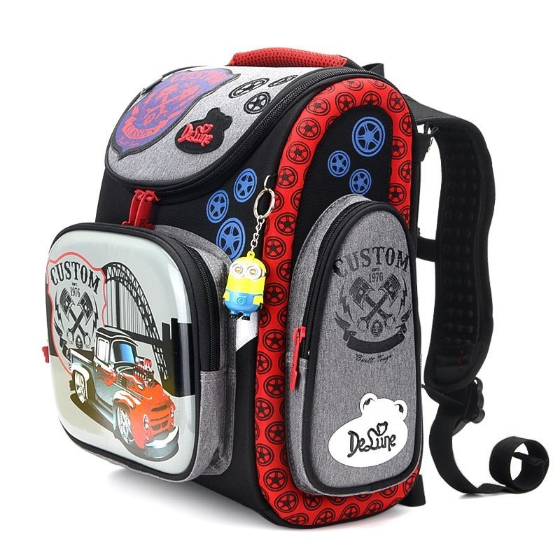Schule Taschen Für Jungen Kinder Grundschule Rucksack Tasche Orthopädische Schul Kinder Jungen Grade 1 4 Chirldren Bookbags-in Schultaschen aus Gepäck & Taschen bei  Gruppe 3