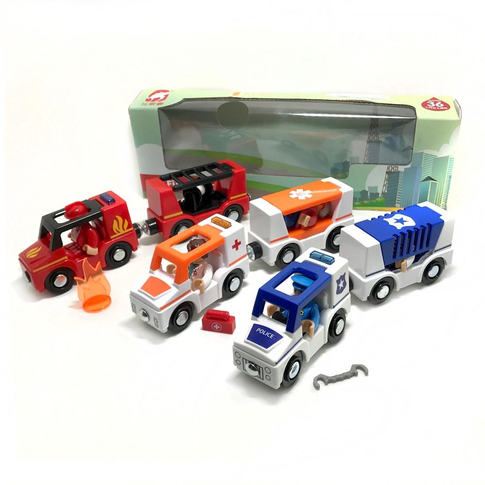 tinguj transporti falas dhe drita e makinës me tren magnetik - Makina lodër për fëmije - Foto 2