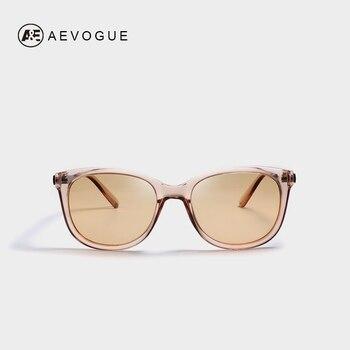 9683b2230a AEVOGUE polarizado gafas de sol de las mujeres 2019 Popupar marco  transparente ojo de gato gafas de sol Vintage Oculos mujer UV400 AE0654