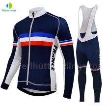 Buy cycling jersey set men autumn blue and get free shipping on  AliExpress.com 0b2e5f90b