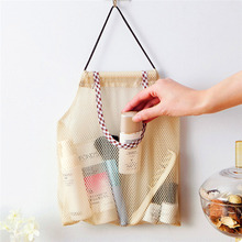Mesh Vegetable Bags Reusable Fruit Bag Storage for Shopping Kitchen with Drawstring Organizer