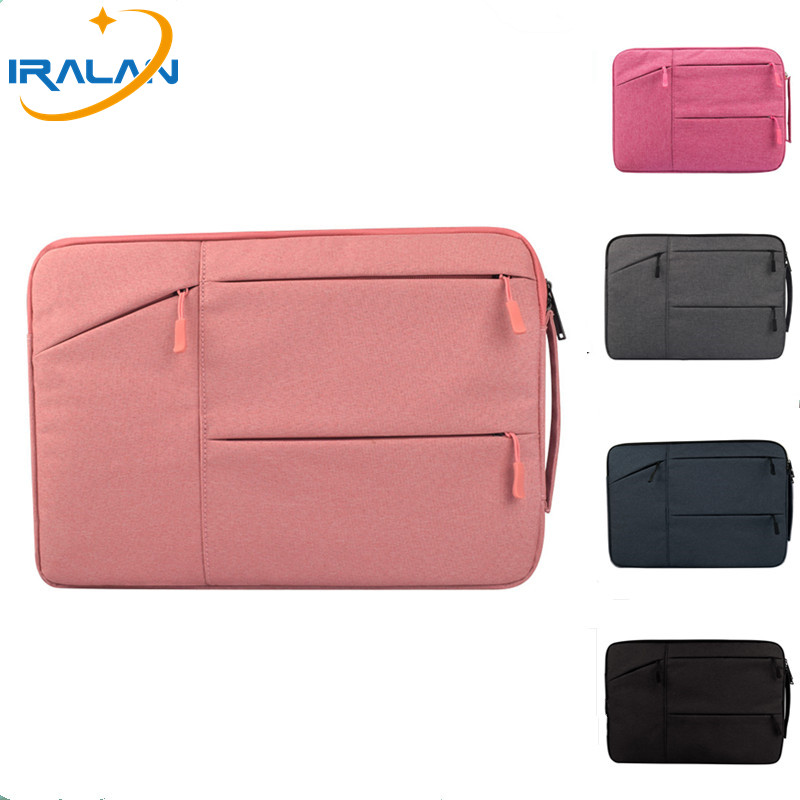 Waterproof Laptop Bag Case for MacBook Pro12 13 15 Air Bag for Xiaomi Notebook Air 11 Shockproof Polyester Laptop Sleeve 14 15.6