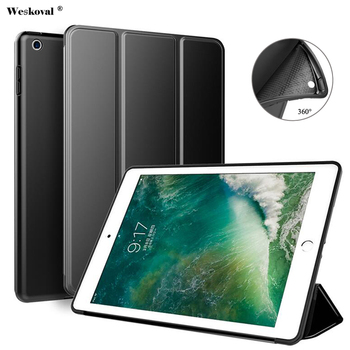 Fundas Voor iPad 2/3/4 Siliconen Case A1460 A1459 A1430 Cover Voor iPad 2/3/ 4 originele 1:1 Smart Wake Up Sleep Slim PU Lederen Coque