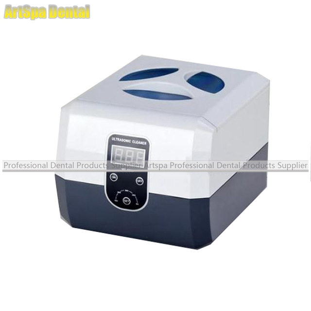Dental Ultrasonic Cleaner Cleaning Machine Stainless Steel Portable Dental Jewelry Watch Cleanser Machine Digital Display dental caries model dental dental model dental cast model for department of dentistry medical anatomy model gasen rzkq012