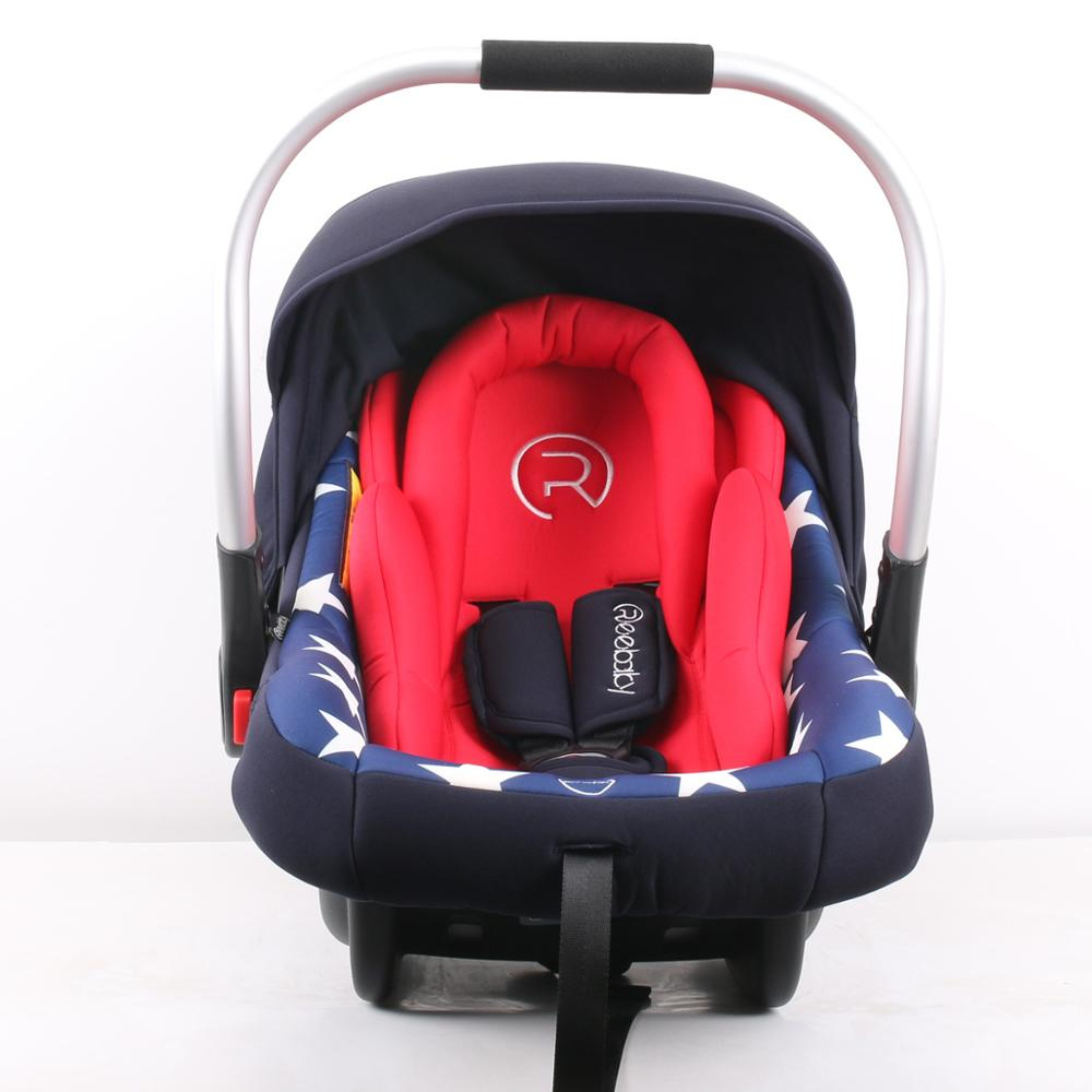 EU standard baby car seat, HDPE+cloth+sponge, from 0kg-13kg, Group 0+ for Baby 0-36kg Car Seat