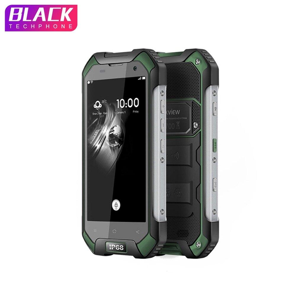 Blackview BV6000s 2 GB 16 GO téléphone portable 4.7 pouces HD 4G Smartphone Android 7.0 Étanche antichoc téléphone MT6735 Quad core 4500mA