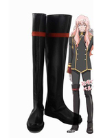 Cute High Earth Defense Club LOVE Akoya Gero Cosplay Boots Shoes Anime Party Cosplay Boots Custom