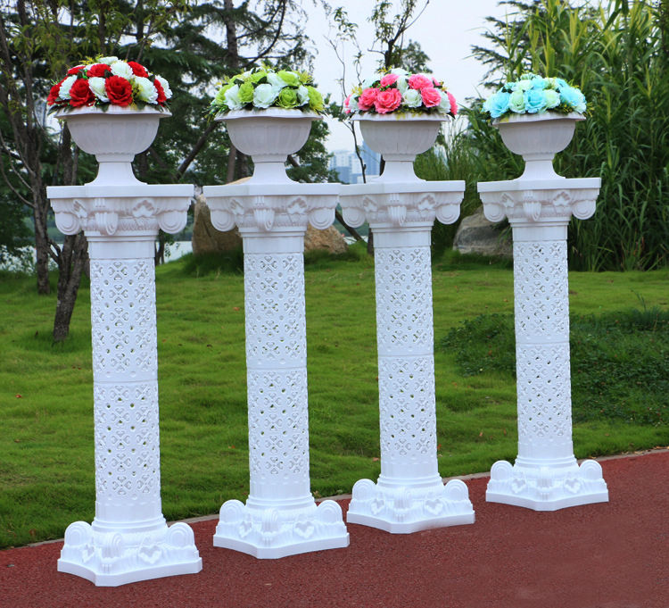 Photography Props Plastic Roman Pillars Column Pedestal Wedding