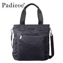 Padieoe High Quality Waterproof Nylon Handbag Hot sale Men's Casual Tote Bag Fashion Durable Messenger Bag Business men Handbag