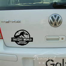 Car Stickers Dinosaur Jurassic Park The Lost World Creative Decals Auto Tuning Styling Waterproof 20*15cm D11(China)