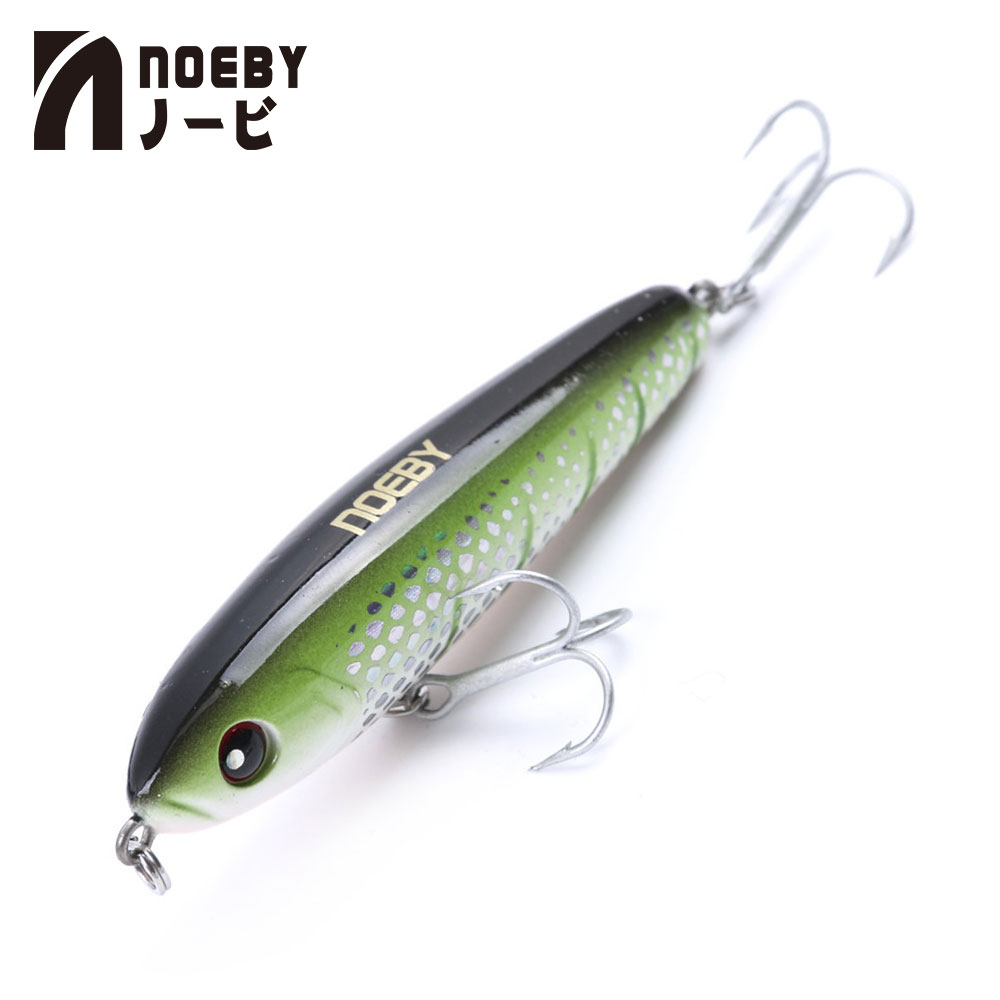 NOEBY Pencil Hard Bait Fishing Lure 75mm 28g Sinking 0.5-1.8m Leurre Dur Peche Souple Shad With France VMC Hook