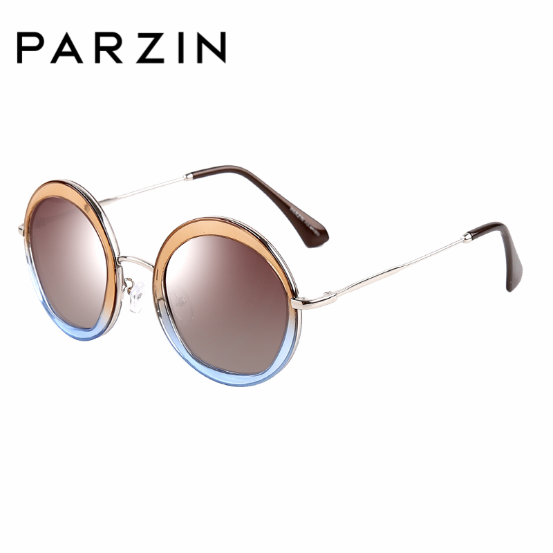 PARZIN Brand Designer Geometric Sunglasses For Women Quality Polarized Sun Glasses Driving Eye Wear With Original Box 9516  N