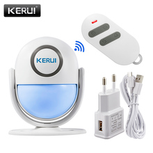 KERUI WP7 Cost effective Wireless WiFi Burglar Home Security Alarm System App Control Infrared PIR Motion Detector Alarm