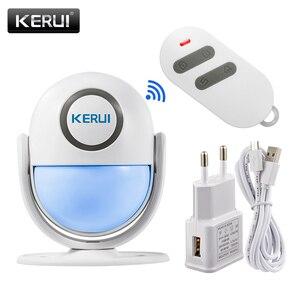 Image 1 - KERUI WP7 efektywne pod względem kosztów bezprzewodowy WiFi włamywacz System alarmowy do domu kontrola aplikacji na podczerwień czujnik ruchu PIR Alarm