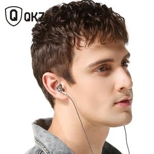 Image 3 - Genuino di Marca Auricolare QKZ DM9 In Lega di Zinco HiFi Headhone BASS Auricolari In Metallo Auricolare