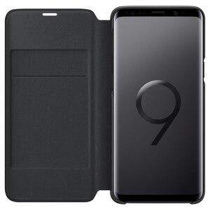 Image 4 - 원래 삼성 LED 커버 보호 커버 전화 케이스 삼성 갤럭시 S9 G9600 S9 + 플러스 G9650 수면 기능 카드 포켓
