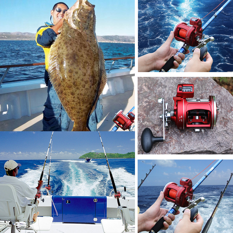 isca fundição carretel pesca carretel arraste max 28kg